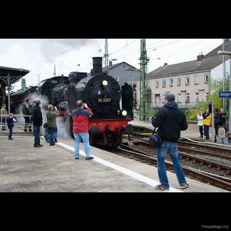 Brückenfest 2010 mit der 38 2267