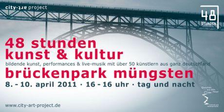 48h stunden kunst & kultur: bildende kunst, performances + live-musik mit über 50 künstlern aus ganz deutschland