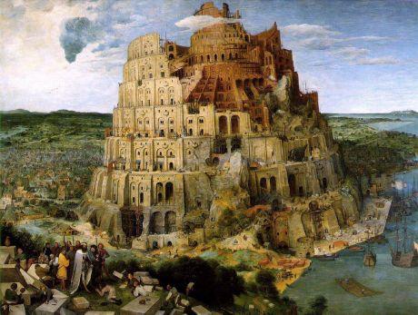 Der Turmbau zu Babel (1563): Pieter Bruegel der Ältere