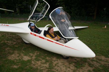 Segelflieger: ohne Motor, aber mit viel Technik