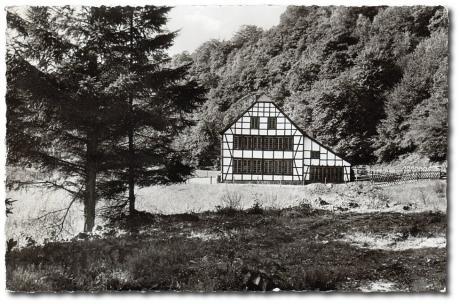 Postkarte Bergisches Land, Balkhauser Kotten bei Solingen: Verlag Max Biegel, 56 Wuppertal-Vohwinkel, Nr. Bld. 85 / 1963/65-2