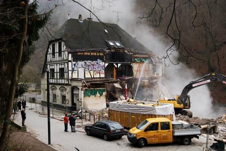 Exitus: Abriss an der Wupper, die ehemalige Rockdisco Exit