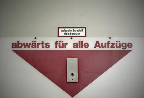 abwärts für alle Aufzüge: (Basisfoto: Möni Quarch)