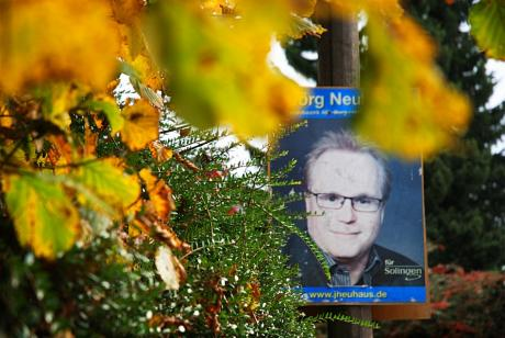 Altes Neu: Überbleibsel aus dem Kommunalwahlkrampf 2009