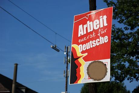 Arbeit: zuerst für Deutsche
