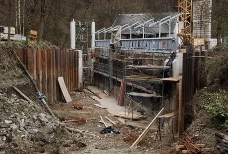 Baustelle Auerkotten