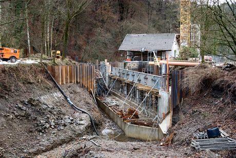Baustelle am Auerkotten