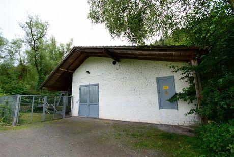 Auer Kotten, Betriebsgebäude: für die Wasserturbine