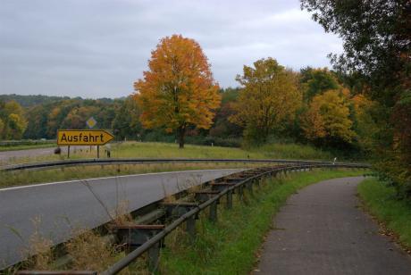 L74: Solingen, Zufahrt zum Stadtteil Kohlfurth