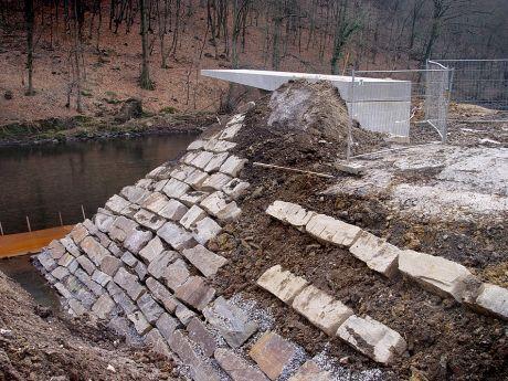 Brückenparkbau - Zur schönen Aussicht: im Januar 2006