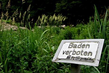 Baden verboten !: Der Oberbürgermeister