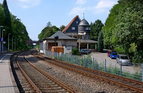 Bahnhalt in Solingen, Schaberg