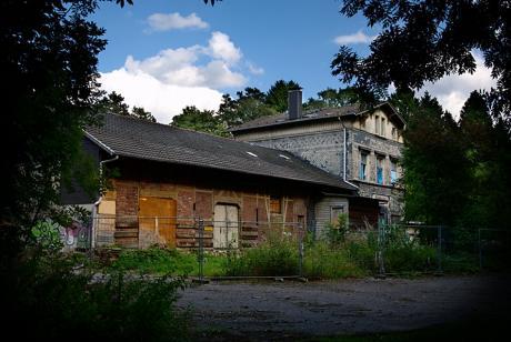 Bahnhof Gräfrath: (August 2009)