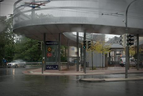 Bahnhof Mitte: Oktober 2010