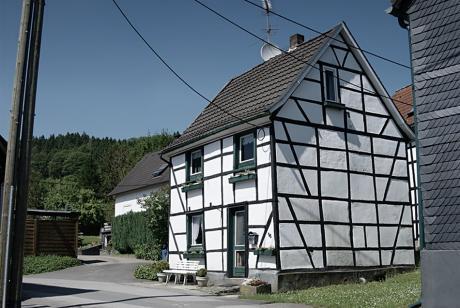 historisches Bauwerk: Fachwerk in Balkhausen