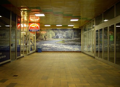 Balkhauser Kotten: sein Abbild versperrte jahrelang den Zugang zur Stadtsparkasse (2006)