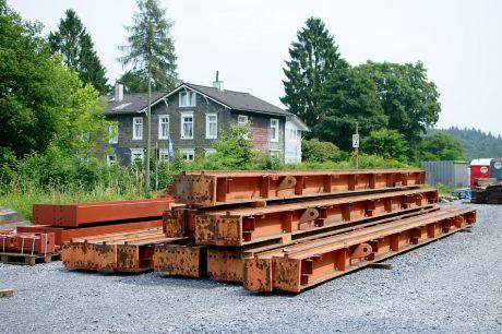 Der alte neue Bauplatz in Schaberg