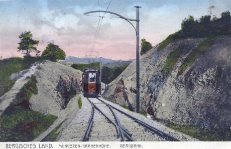 Barmer Bergbahn: Müngsten - Krahenhöhe