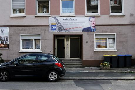 Plakatierung BfS: Gasstraße