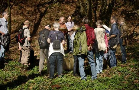 BGV-Exkursion: Naturhistorische Wanderung Weinsbergtal II; an der Wüstung Struppsmühle