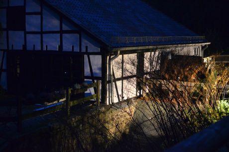 Balkhauser Kotten im eigenen Abendlicht
