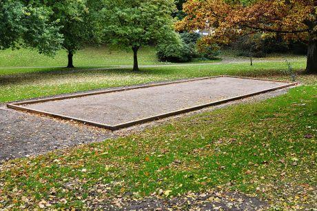 Boulebahn im Gustav-Coppel-Park