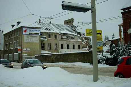 Die Überreste der ehemaligen Brauerei Beckmann: an der Schützenstraße