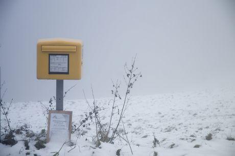 Der Briefkasten: Unser Briefträger leer ihn täglich!