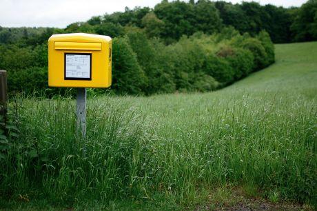 naturnaher Briefkasten
