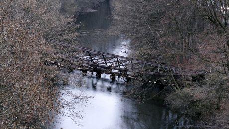 RME-Brücke am Donnerstagnachmittag: 4.12.2014