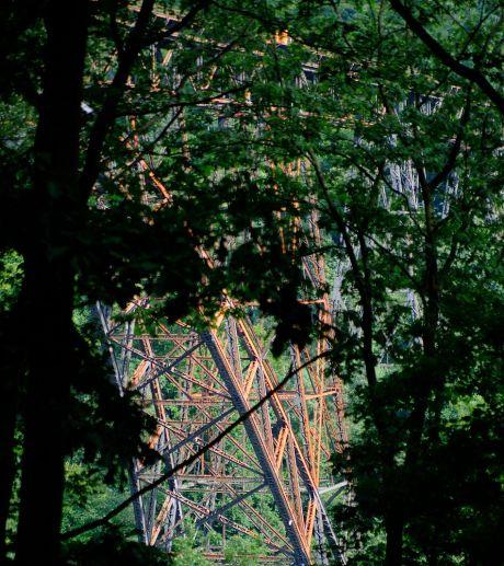 Müngstener Brücke im Zwiegespräch mit der Natur