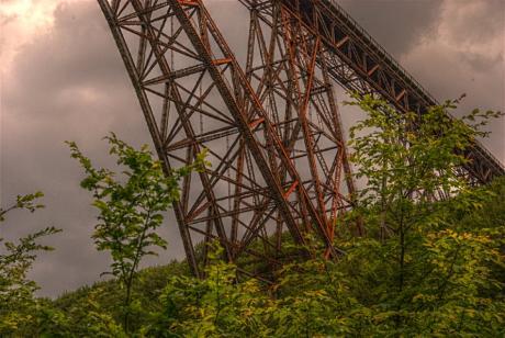 rostende Müngstener Brücke