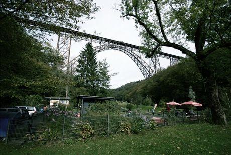 Müngstener Brücke Anfang Oktober 2010