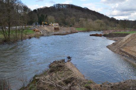 Brückenneubau an der Haasenmühle: Mitte März 2020