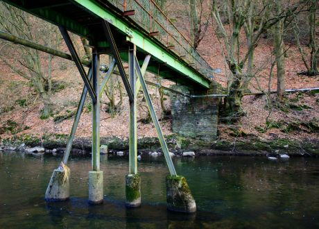 Wupperbrücke Papiermühle: marode