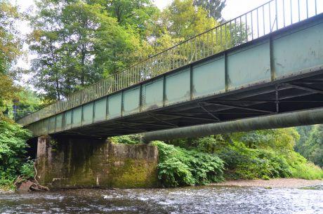 Brücke über die Wupper in Strohn