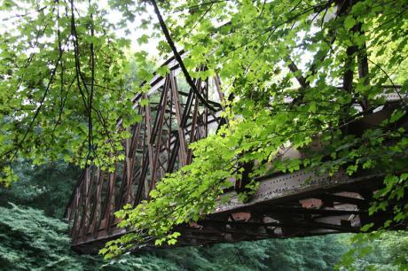 Im Dickicht der Stadt: Brücke der RME, aufgenommen von Herrn Olsen im August 2009