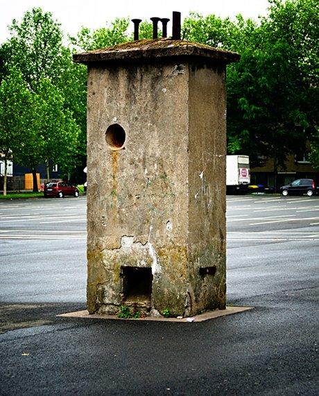 oberirdische Bunkerreste