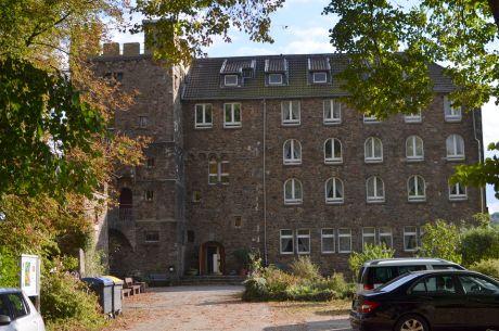 Burg Hohenscheid im Jahre 2016
