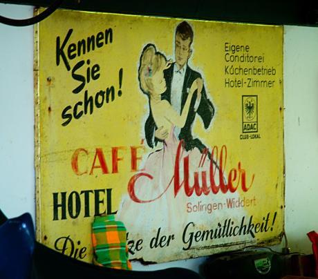 Kennen Sie schon: Cafe Müller ?