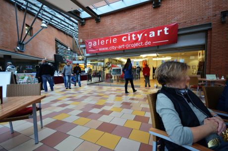 galerie city-art in den Solinger Celemens-Galerien: letzter Tag