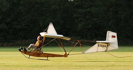 Segelflugzeug: aus den Anfänger der Luftsportgruppe