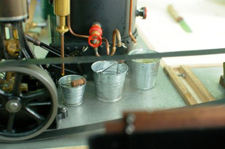 Dampfmaschine: grandioser Nachbau von Thomas Weihrauch