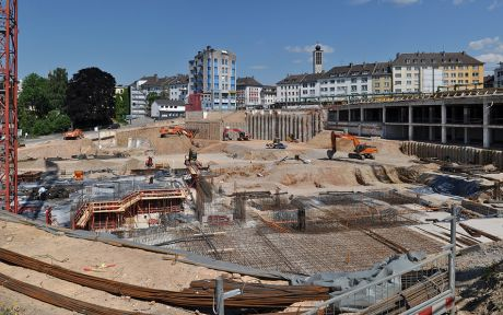 Baustelle (SSC) Solingen Shopping Center
