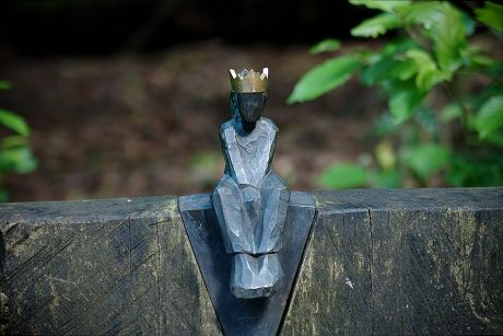Der kleine König: im Sinneswald