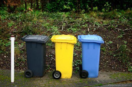 Das klassische Mülltonnendtrio