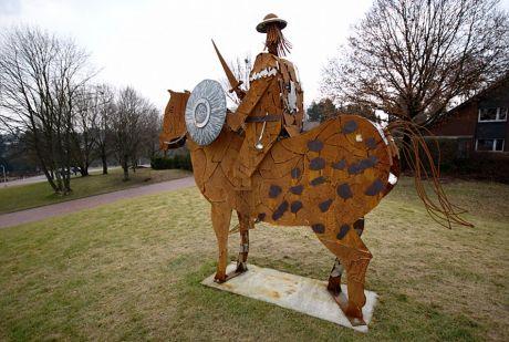 Don Quijote - der Ritter mit dem Suppenlöffel
