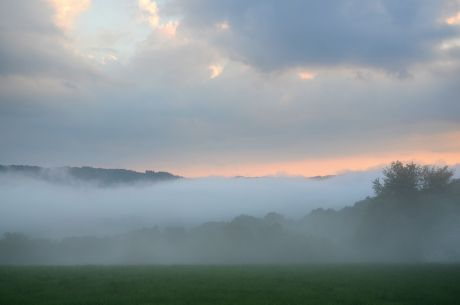 Hohenscheid am 31. Juni 2016: kurz vor Sonnenuntergang