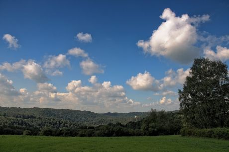 Wolken über Hohenscheid