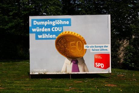Dumpinglöhne: würden CDU wählen